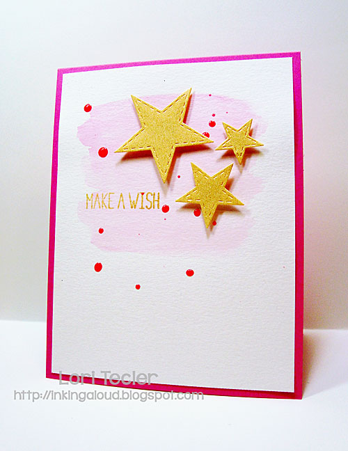 Make a Wish card-designed by Lori Tecler/Inking Aloud-stamps from Lawn Fawn