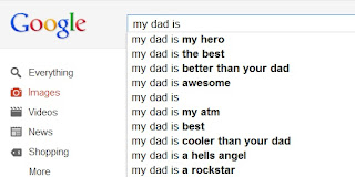 my dad is according to Google