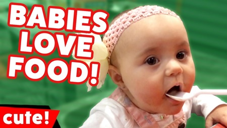 Funniest Babies Love Food Reactions of 2017 Compilatio