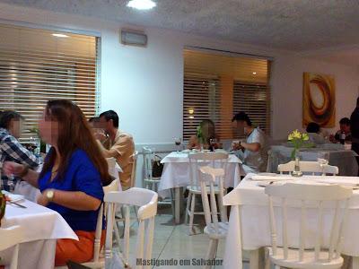 Restaurante Bella Napoli: Ambiente interno
