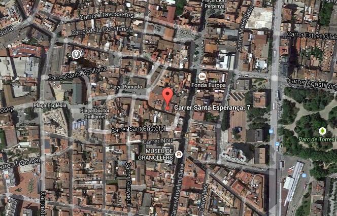 https://www.google.es/maps/place/Carrer+Santa+Esperan%C3%A7a,+7,+08401+Granollers,+Barcelona/@41.6076318,2.2882234,690m/data=!3m1!1e3!4m2!3m1!1s0x12a4c7c5efed5355:0xce44e7c65f7f01fc
