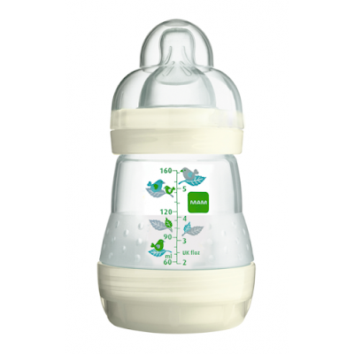 MAM Anti Colic Bottle Ivory
