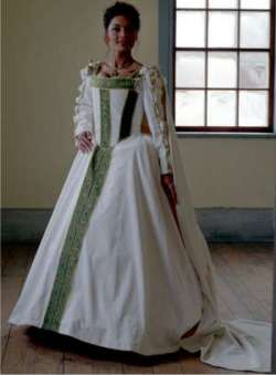 Aturbest special events renaissance wedding gowns for Tudor style wedding dress