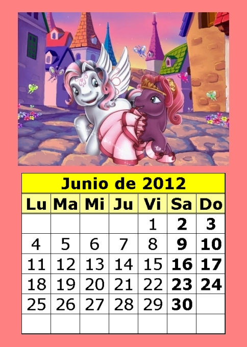 CoSqUiLLiTaS eN La PaNzA BLoGs: CALENDARIO INFANTIL DISNEY 2012 COLOR