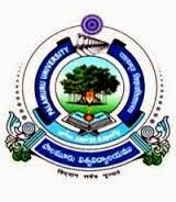 Palamuru University Time Table 2015