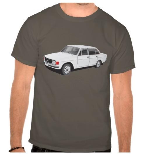 Volvo P 144 tröjor skjortor paidat shirts