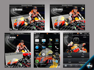 Theme Stoner MotoGP for BlackBerry