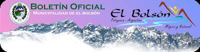 BOLETÍN OFICIAL - Municipalidad de El Bolsón