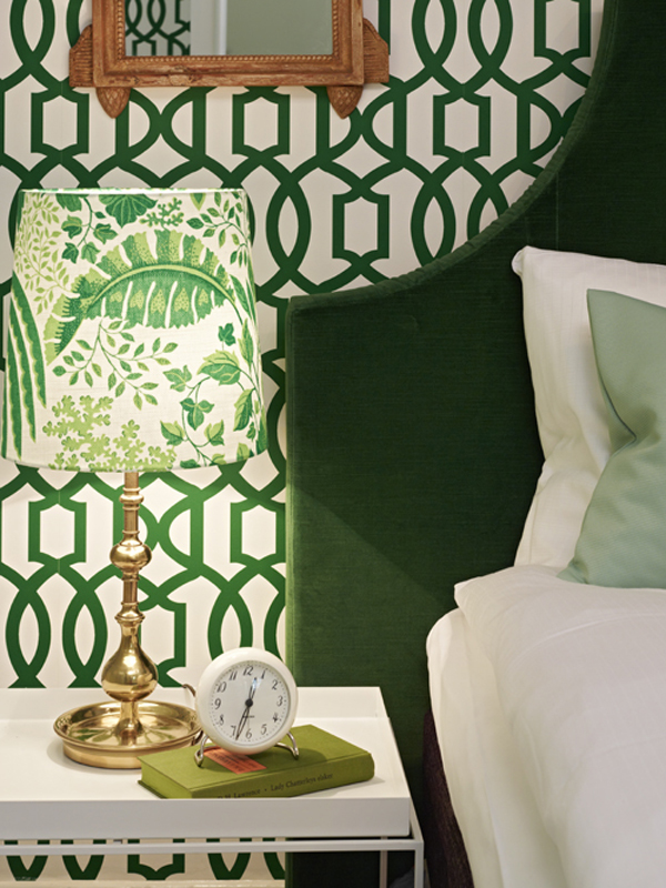 green trellis wallpaper schumacher - photo #23