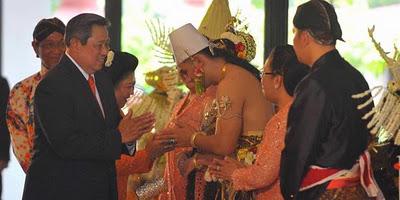 Foto Pernikahan Putri Sultan Hamengkubuwono X, resepsi pernikahan ...