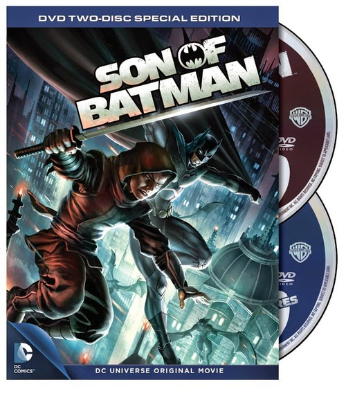 Son of Batman DVD cover