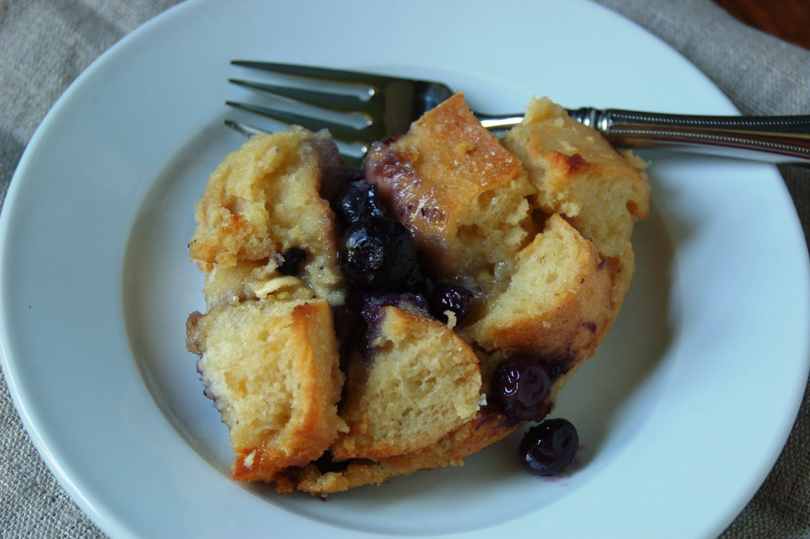 Another Marvelous Meal: White Chocolate Blueberry Bread Pudding