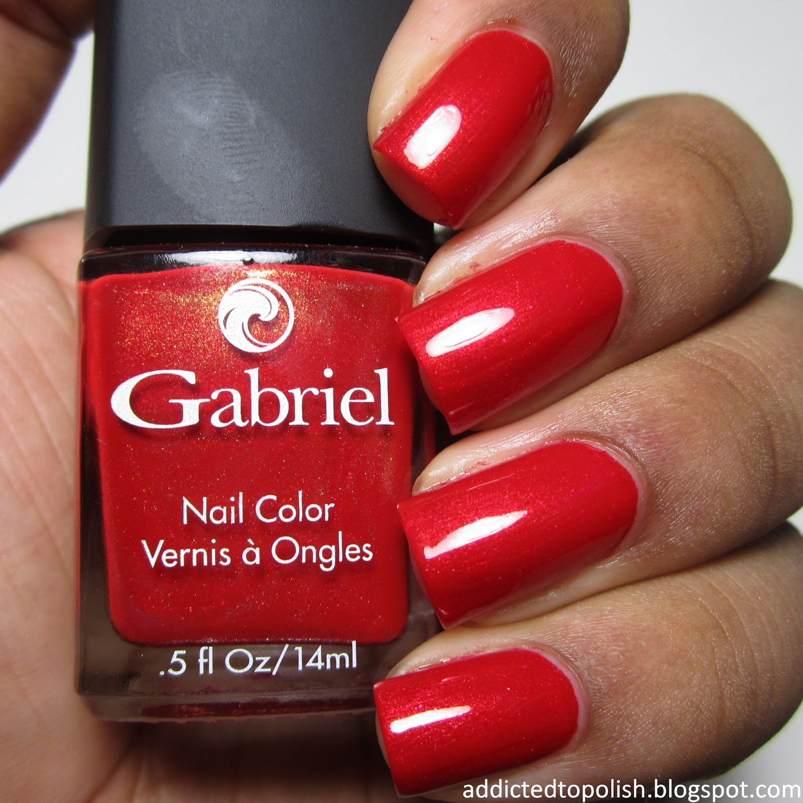 Gabriel Cosmetics Holiday Red ColorBLOCKade Color Blockade Collection