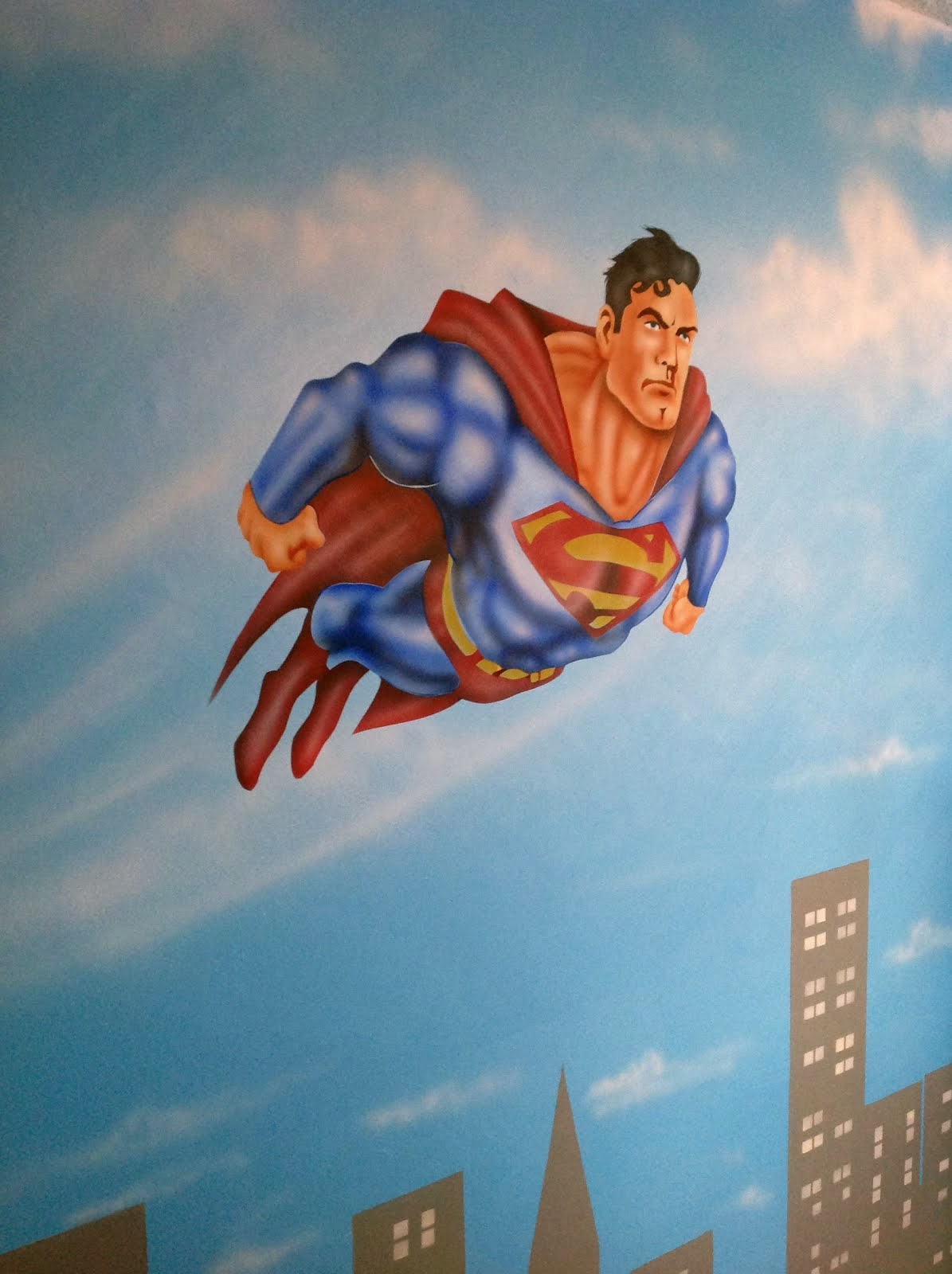 MURAL SUPER HEROES