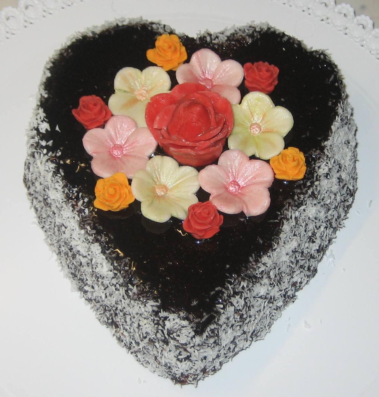 abbastanza Torte e biscotti decorati per bomboniere golose !: Cuori e fiori  VX64