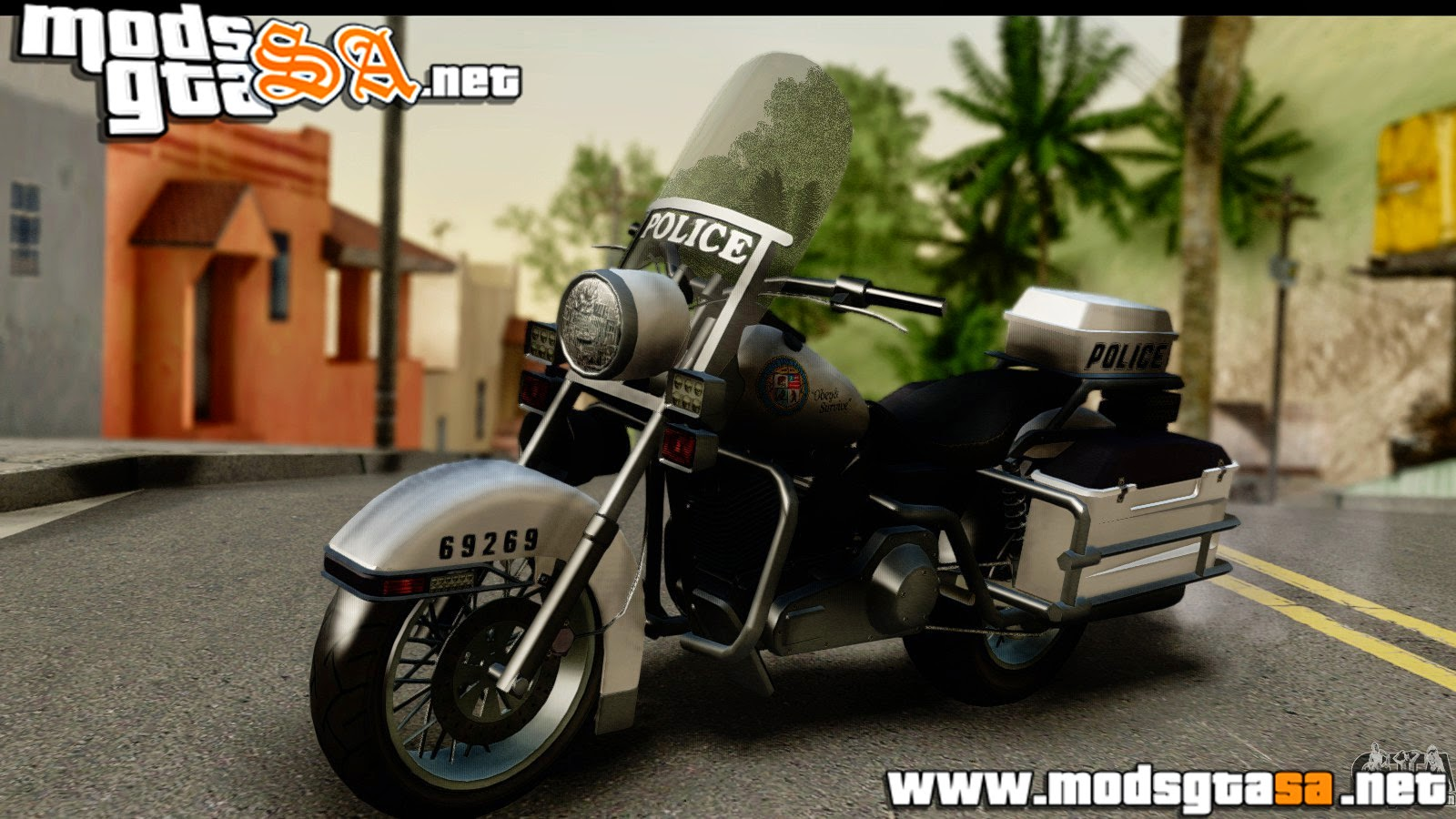 SA - Moto da Policia do GTA V