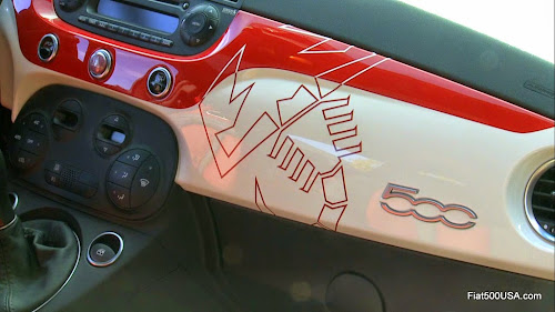 Fiat 500 Abarth Scorpion Dashboard