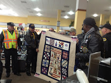 Quilt of Valor presentation