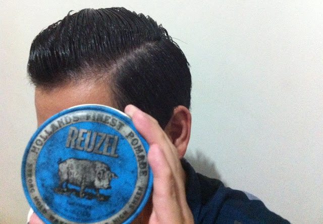 Review Reuzel Pomade - Strong Hold High Sheen