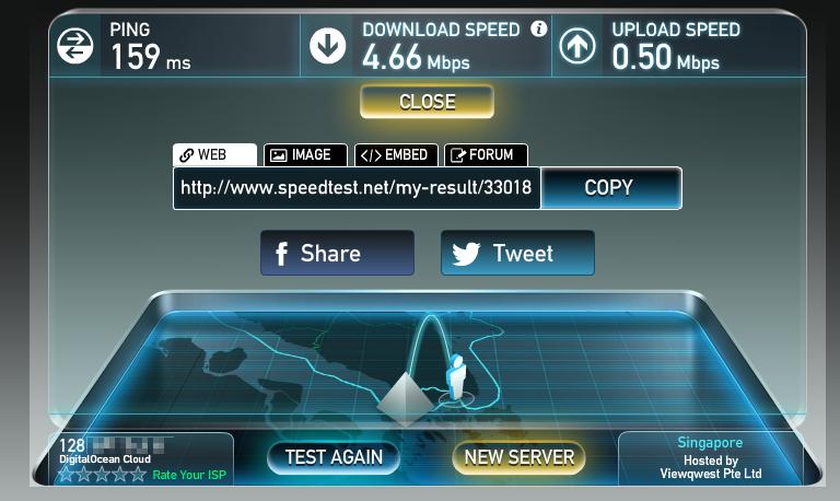 Cek Speed Internet