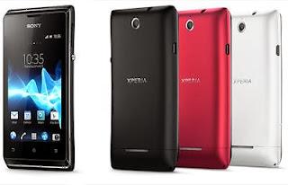 Harga Dan Spesifikasi Sony Xperia E Dual C1605 New