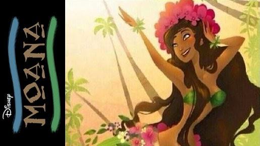 Gambar Moana Film Princess Walt Disney Putri Hawai Legenda Polinesia Terbaru