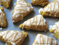 Starbucks inspired pumpkin scones recipe