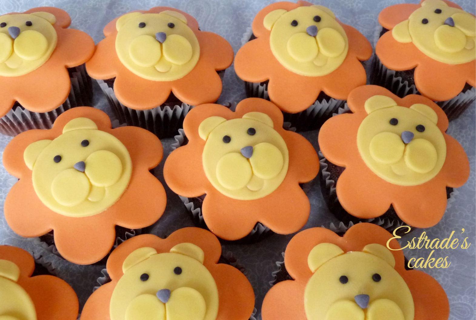 cupcakes de león - 2