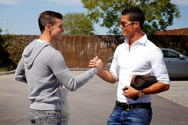 Gareth Bale dan Cristiano Ronaldo