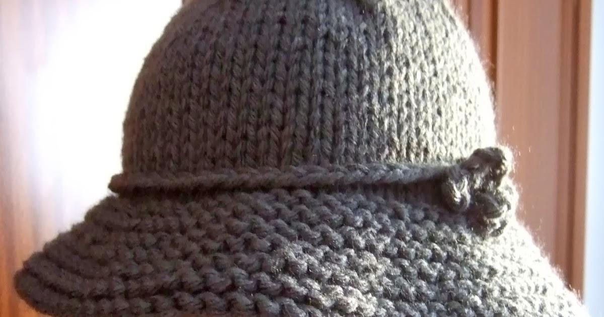 Mis labores sombrero de lana - Labores de punto de lana ...
