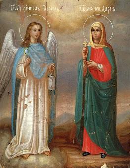 Azi 19 martie praznuirea Sfintei Mucenite Daria !