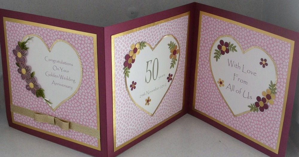 Quilling anniversary greeting cards ~ Beautiful anniversary card youtube