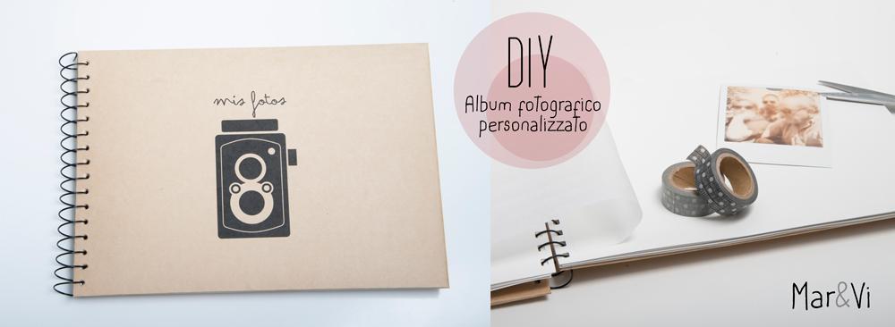 Mar vi blog diy album fotografico handmade - Como hacer un album casero ...