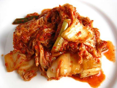 kim chi thơm ngon nhờ ớt bột Hàn Quốc