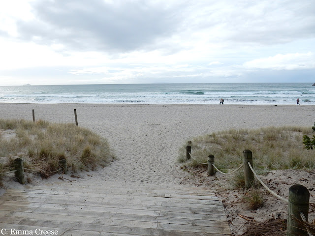 Mount Maunganui Beach New Zealand