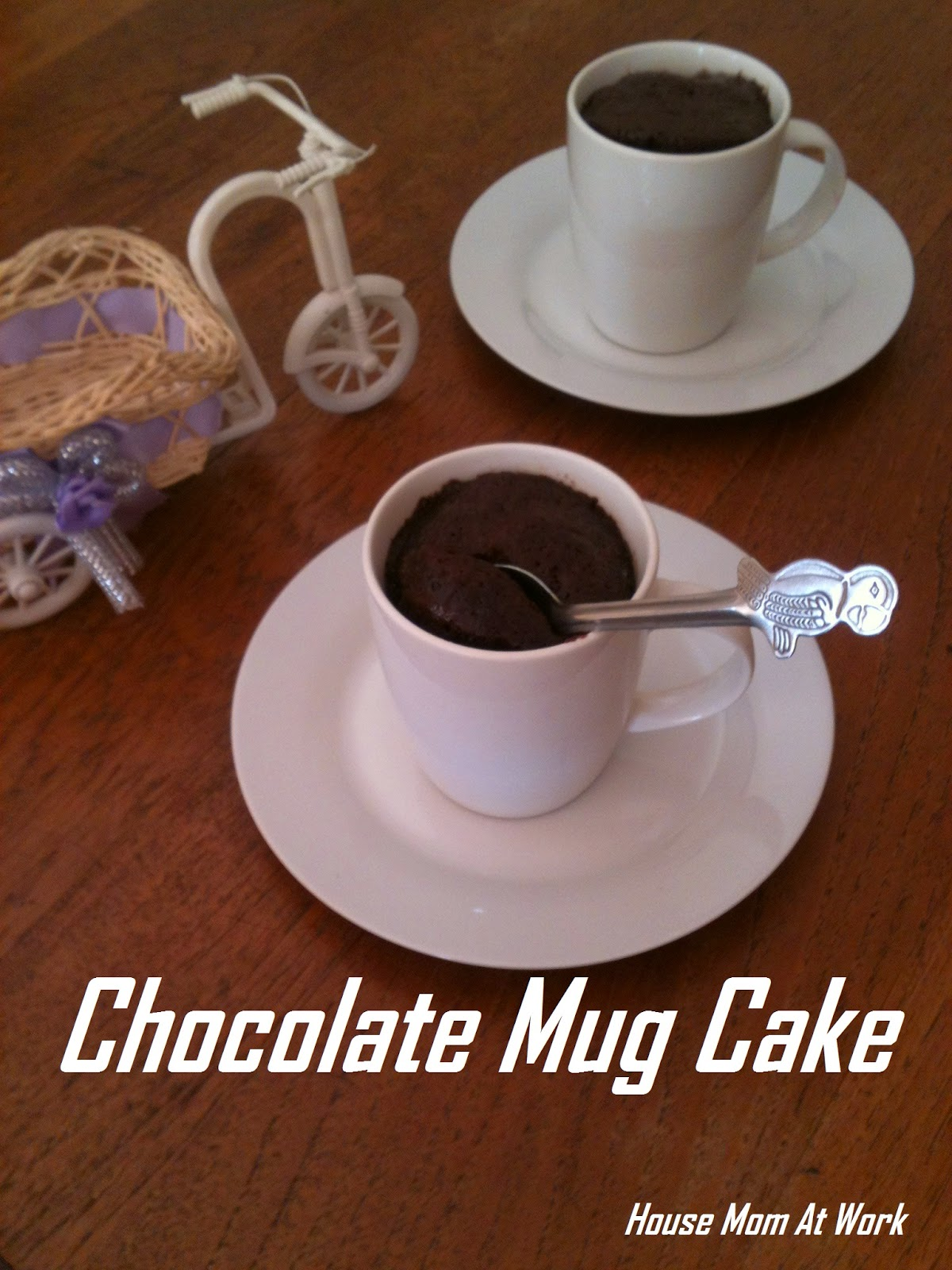 ... @ Work: 5 Minute Chocolate Mug Cake / Instant Mug Cake in Microwave