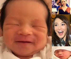 Fann Wong & Christopher Lee Welcome Baby Boy ZED