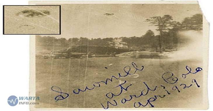 Foto gambar kuno penampakan pesawat UFO di colorado Amerika serikat