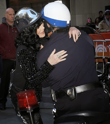 Cher arriving at 'The Today Show'