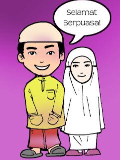 Ucapan Bulan Puasa Ramadhan