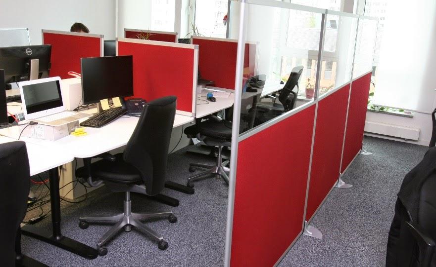 colour up your office g nstige akustikwand mit. Black Bedroom Furniture Sets. Home Design Ideas