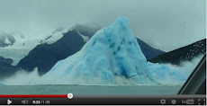 VIDEO DEL ICEBERG QUE SE DA VUELTA