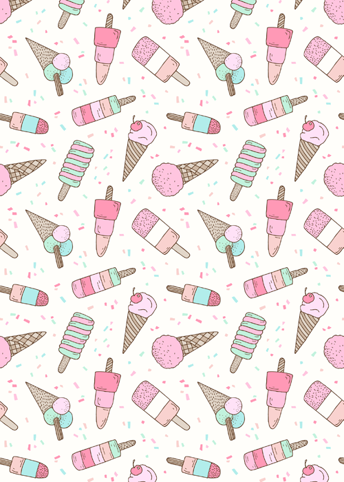 Emma Margaret Illustration Ice Cream Party 2015