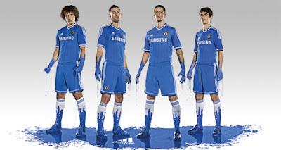 Les nouveaux maillots Chelsea 2013-2014