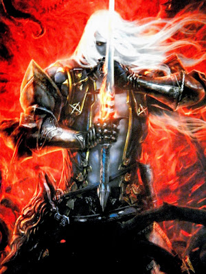 Artist's design of Alucard, Dracula's son