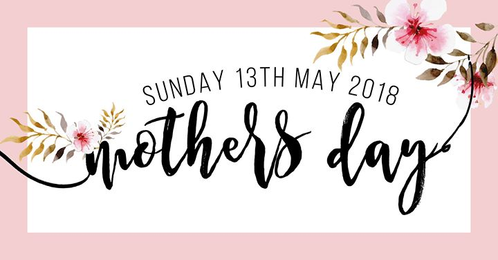 May: Mother's Month