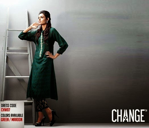 Change Eid Collection 2014 for Girls