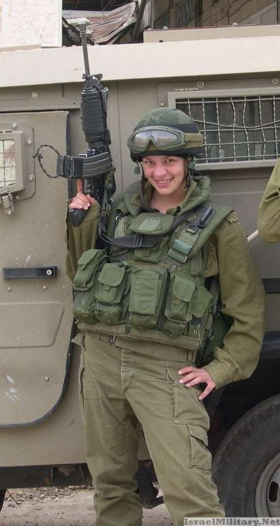 israel+military+girl