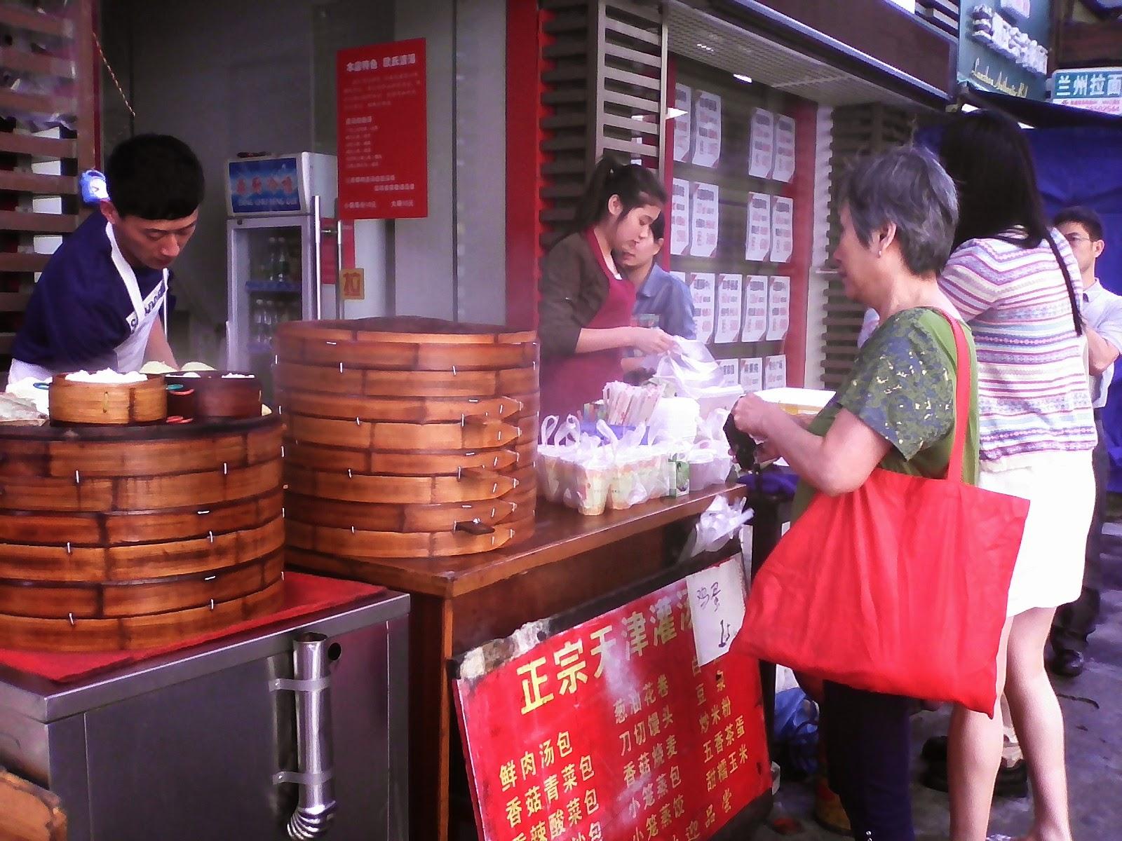Curiosidades sobre os chineses: barraquinhas de comida de rua