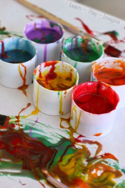 Two ingredient edible paint recipe